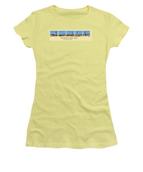 Panorama Of Ecija Spain Women's T-Shirt (Athletic Fit)