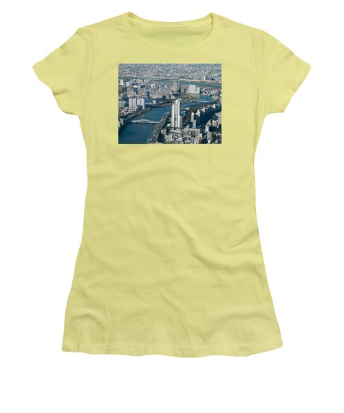 Panorama Of Tokyo Women's T-Shirt (Athletic Fit)