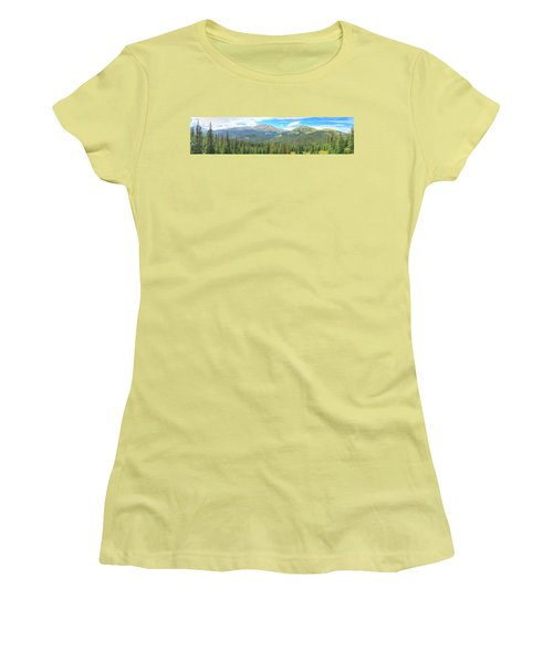 Panoramic Boreas Pass Women's T-Shirt (Athletic Fit)