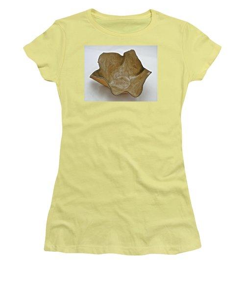 Paper-thin Bowl  09-010 Women's T-Shirt (Junior Cut) by Mario Perron