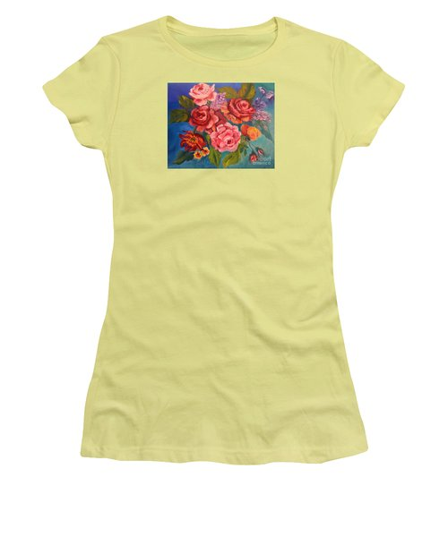 Parade Of Roses 11 Women's T-Shirt (Athletic Fit)