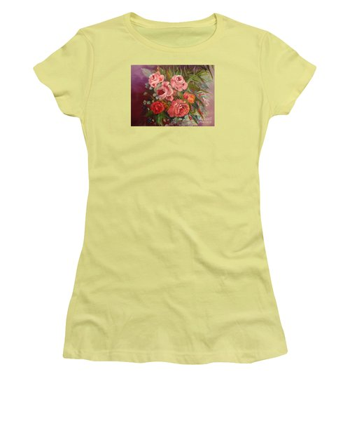 Parade Of Roses Women's T-Shirt (Athletic Fit)