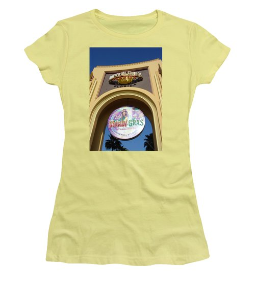 Women's T-Shirt (Junior Cut) featuring the photograph Party Time by David Nicholls