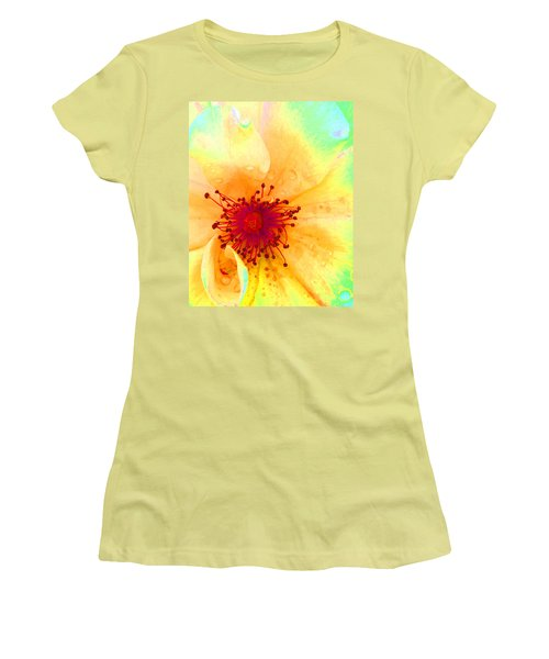 Pastel Garden Women's T-Shirt (Athletic Fit)