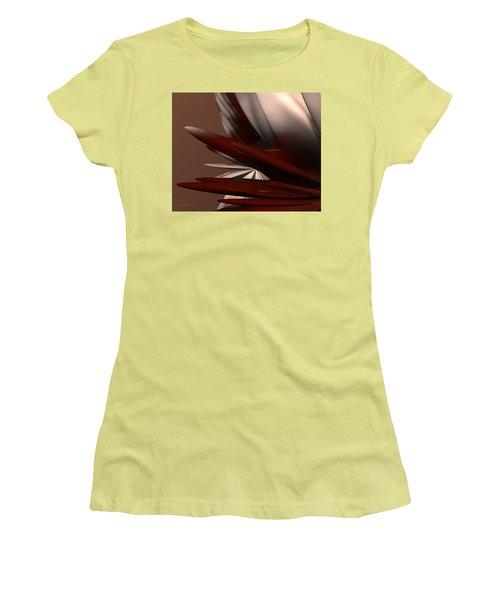 Petals And Stone 2 Women's T-Shirt (Junior Cut) by Judi Suni Hall