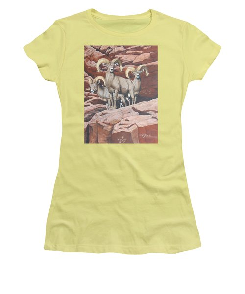Petroglyphs Women's T-Shirt (Athletic Fit)