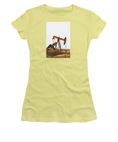 Petroleum Pumping Unit Women's T-Shirt (Athletic Fit)