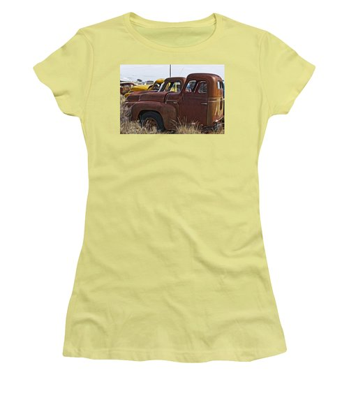 Pickup Cabs 2 Women's T-Shirt (Athletic Fit)