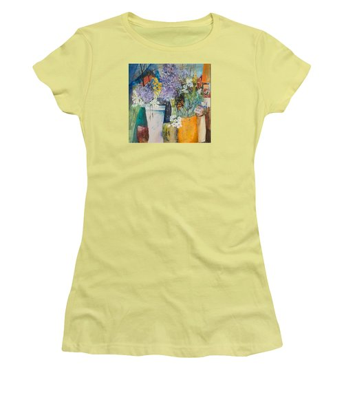 Picture Puzzle Women's T-Shirt (Junior Cut) by Lee Beuther