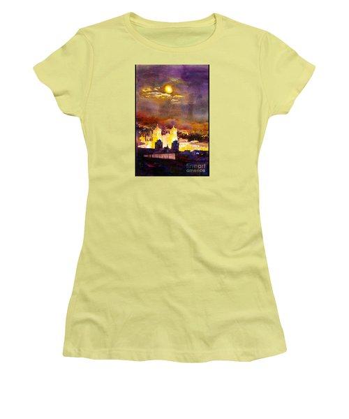 Plaza De Armas- Cusco Women's T-Shirt (Athletic Fit)