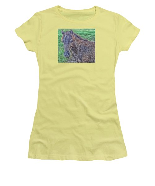 Pony Women's T-Shirt (Athletic Fit)