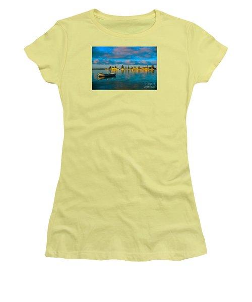 Port Albert Bay Women's T-Shirt (Junior Cut) by James  Dierker