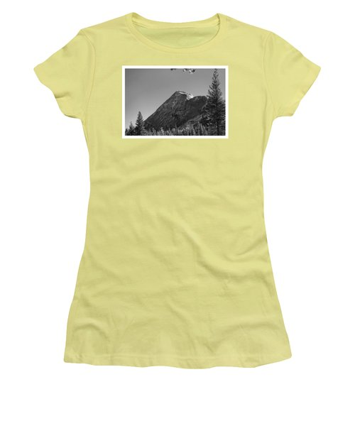 Pothole Dome In Yosemite Women's T-Shirt (Athletic Fit)