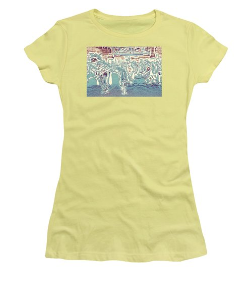 Powwow Shadows Women's T-Shirt (Athletic Fit)
