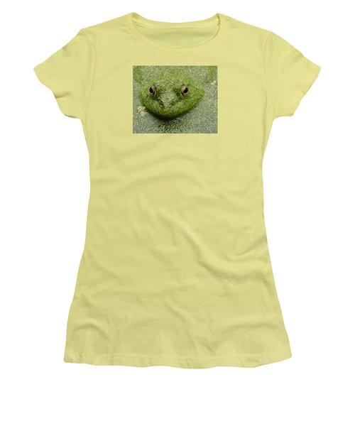 Women's T-Shirt (Junior Cut) featuring the digital art Predator by I'ina Van Lawick