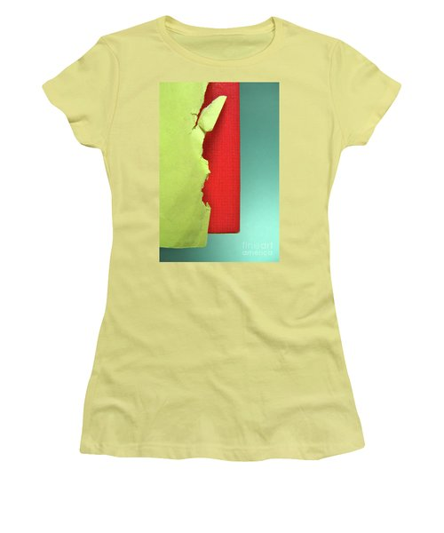 Women's T-Shirt (Junior Cut) featuring the photograph Primary by CML Brown
