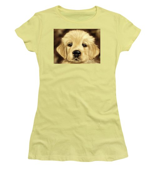 Puppy Women's T-Shirt (Athletic Fit)