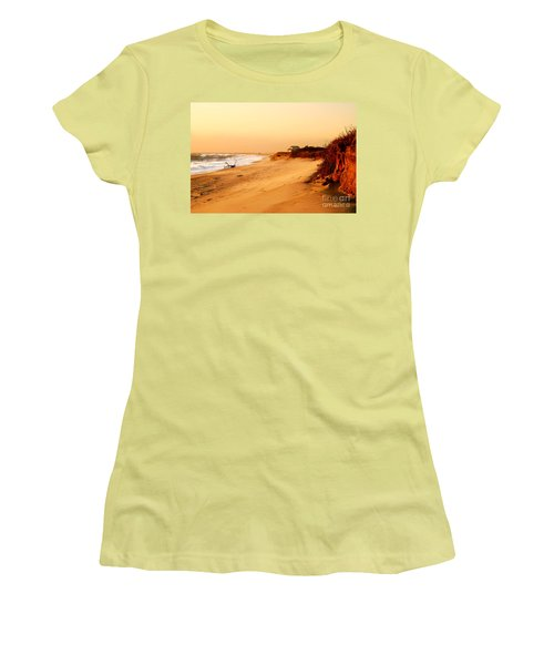 Quiet Summer Sunset Women's T-Shirt (Junior Cut) by Sabine Jacobs