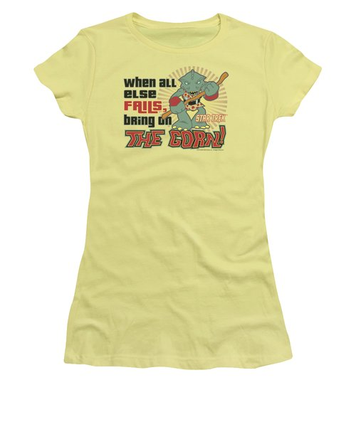 Quogs - Bring On The Gorn Women's T-Shirt (Athletic Fit)