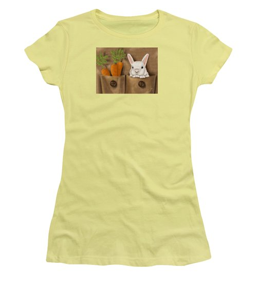 Rabbit Hole Women's T-Shirt (Athletic Fit)