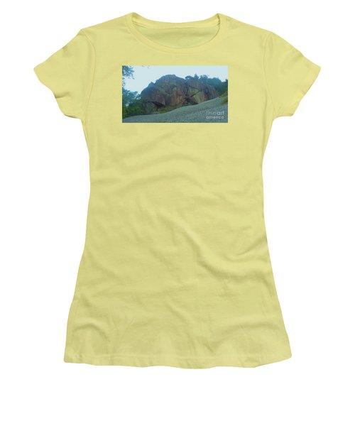 Women's T-Shirt (Junior Cut) featuring the photograph Rainbow Rock by John Williams