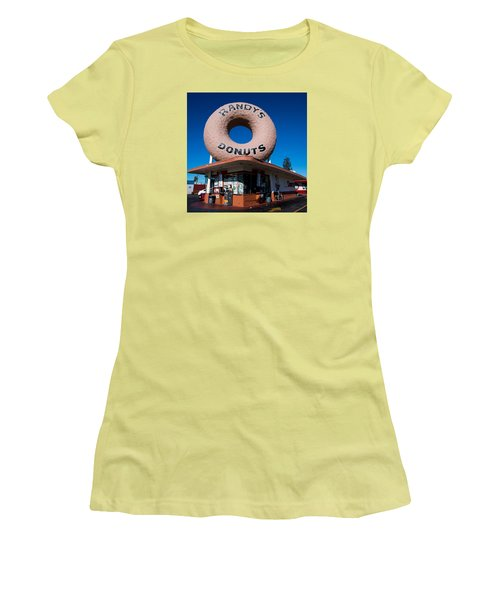 Randy's Donuts Women's T-Shirt (Athletic Fit)