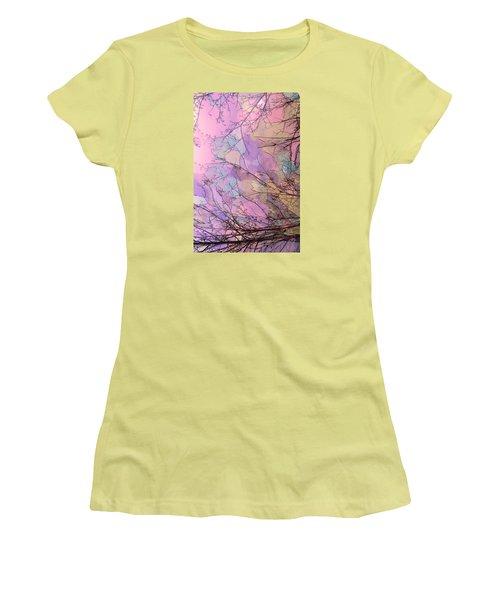 Women's T-Shirt (Junior Cut) featuring the photograph Rapture by Kathy Bassett