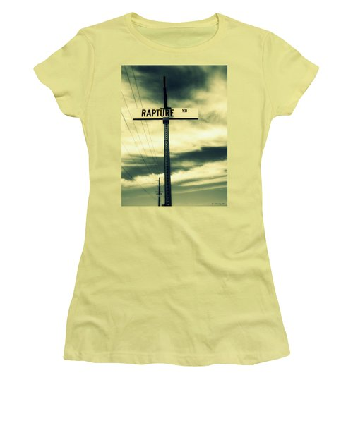Rapture Road Women's T-Shirt (Athletic Fit)