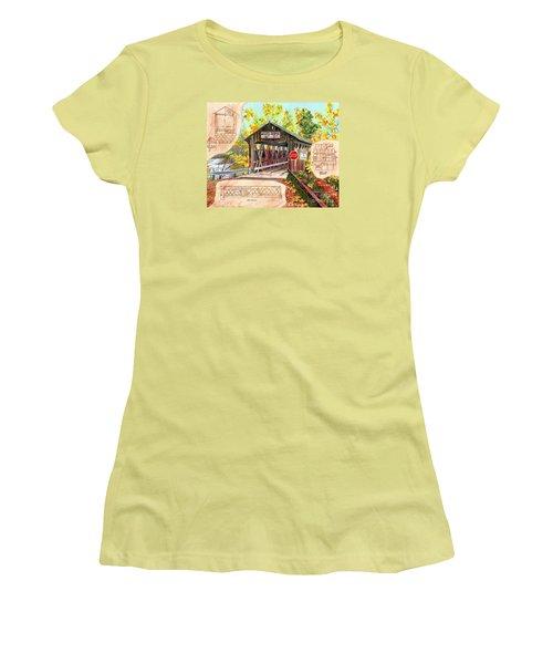 Rebuild The Bridge Women's T-Shirt (Athletic Fit)