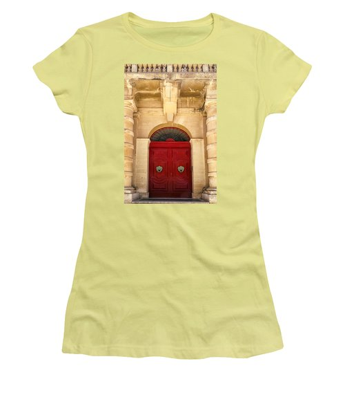 Red Door Women's T-Shirt (Athletic Fit)