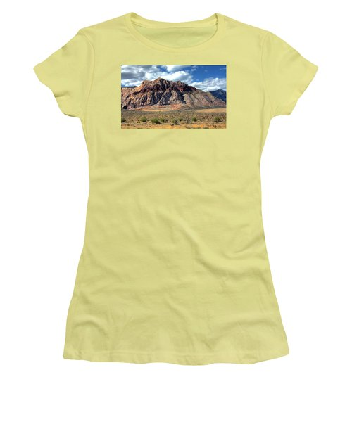 Red Rock Women's T-Shirt (Athletic Fit)