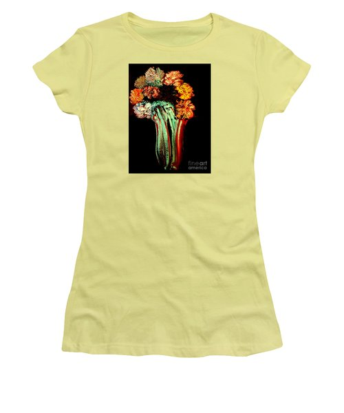 Red Vase Revisited Women's T-Shirt (Athletic Fit)