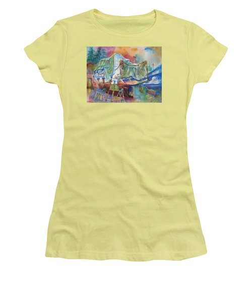 Redemption Ilwaco Wa Women's T-Shirt (Athletic Fit)