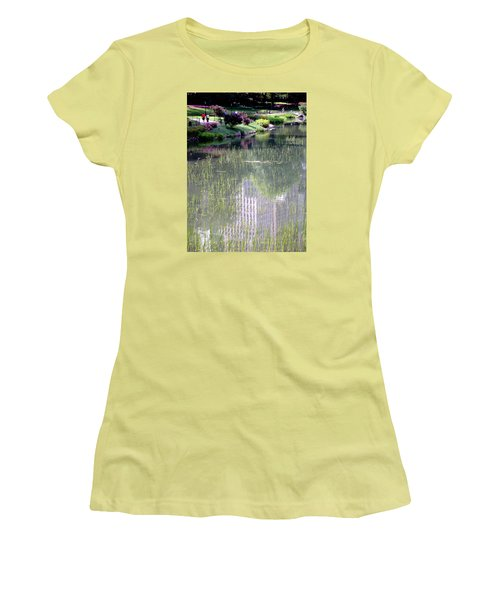 Reflection And Movement Women's T-Shirt (Junior Cut) by Menachem Ganon