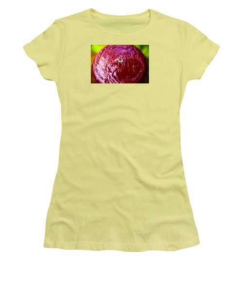 Women's T-Shirt (Junior Cut) featuring the photograph Reflection Time by Mez