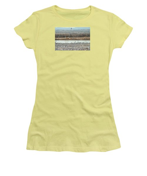 Refuge View 2 Women's T-Shirt (Athletic Fit)