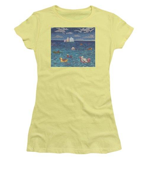 Resort Women's T-Shirt (Junior Cut) by Holly Wood