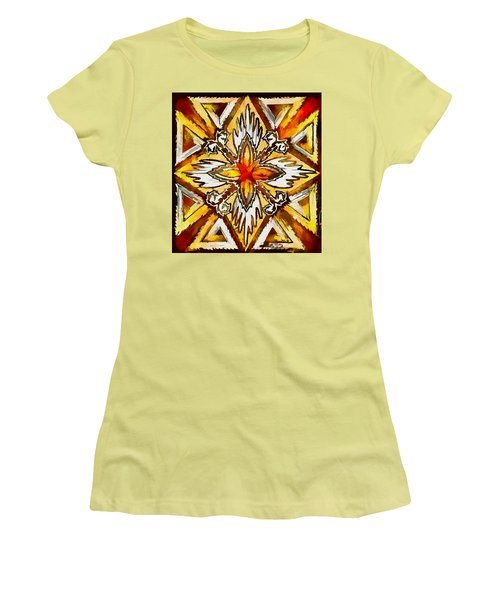 Women's T-Shirt (Junior Cut) featuring the digital art Return by Kathy Bassett