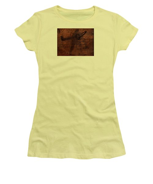 Revealing The Secret Women's T-Shirt (Junior Cut) by Lesa Fine