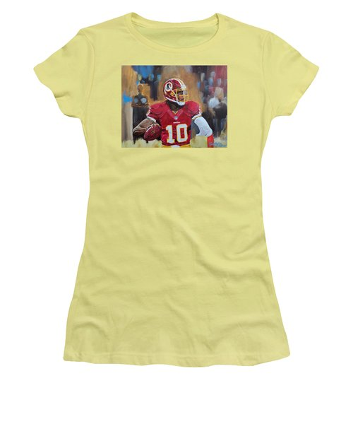 Washington Redskins Rg3 Women's T-Shirt (Athletic Fit)