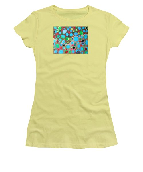 Riches Of People On Earth  Women's T-Shirt (Junior Cut) by Lorna Maza