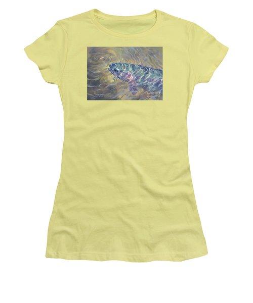 Rainbow Rising Women's T-Shirt (Junior Cut) by Rob Corsetti