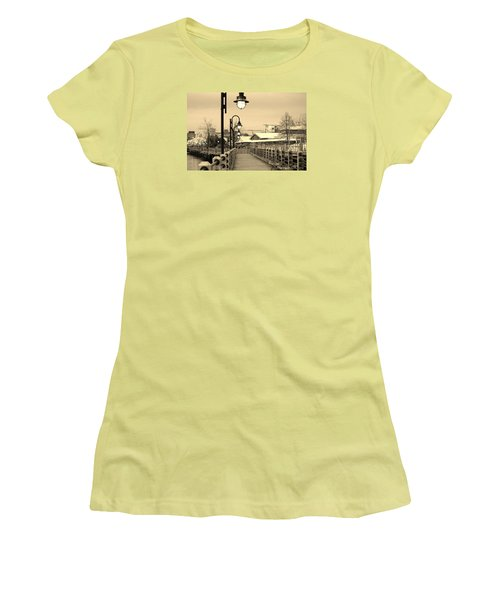 Riverfront Women's T-Shirt (Athletic Fit)
