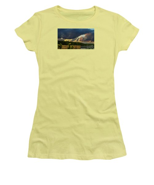 Storm Clouds Rolling In Women's T-Shirt (Athletic Fit)