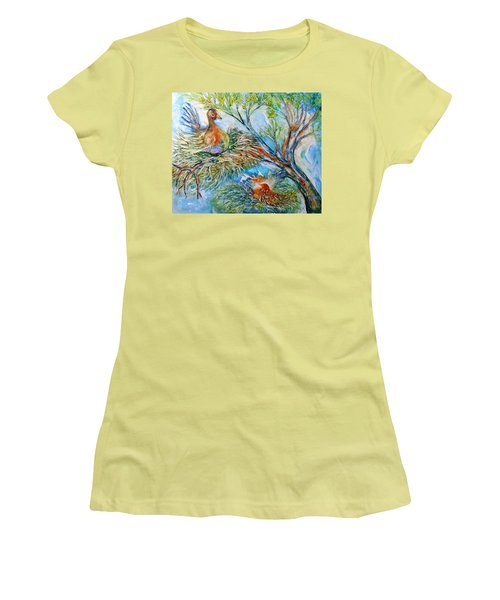 Room With A View Women's T-Shirt (Athletic Fit)