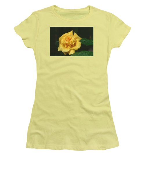 Rose 1 Women's T-Shirt (Athletic Fit)