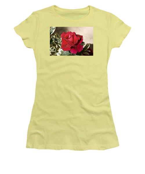 Rose 5 Women's T-Shirt (Junior Cut) by Andy Shomock