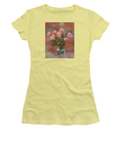 Rose Bouquet Women's T-Shirt (Athletic Fit)