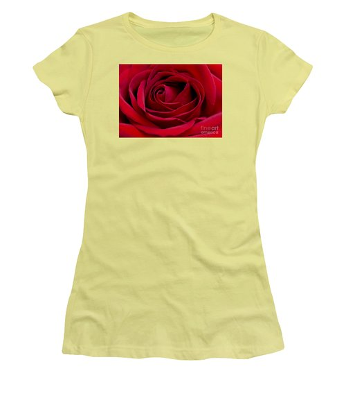 Eye Of The Rose Women's T-Shirt (Athletic Fit)
