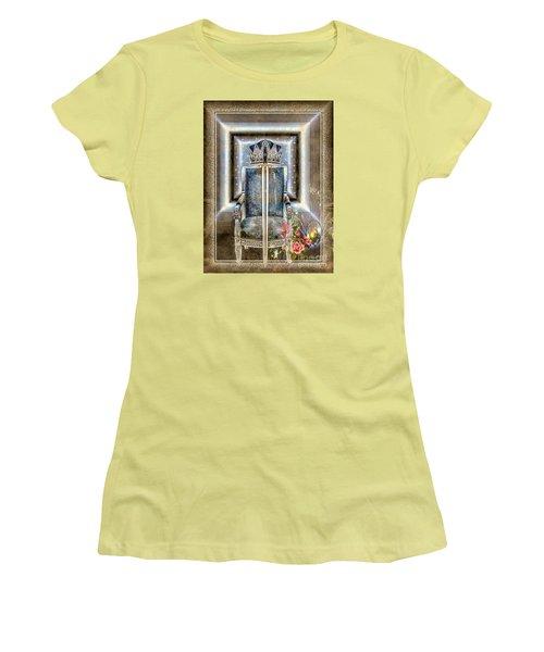 Royal Golden Sword Women's T-Shirt (Athletic Fit)